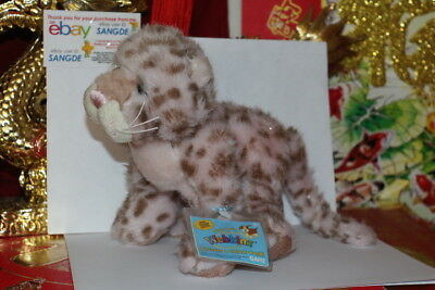 WEBKINZ STRAWBERRY CLOUD LEOPARD.COMES WITH SEALED/UNUSED CODE/TAG-NICE GIFT