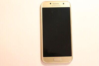 Samsung Galaxy A3 (2017) A320F Gold-Sand GLASSCHADEN! # AU 3394 (Sands Mp3-player)