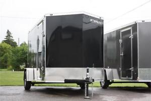 2017 STEALTH MUSTANG 6X10 ENCLOSED CARGO TRAILER