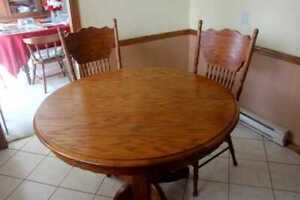 Solid Wood Kitchen Table Set