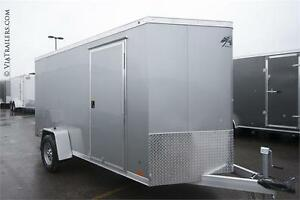 2017 ATC Raven 6x12 enclosed trailer with ramp