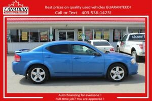 2008 Dodge Avenger SXT Loaded Fianncing for ALL!