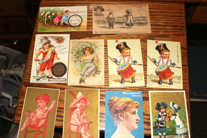 #9476,Estate Collection Victorian Trade Cds-SEWING Related