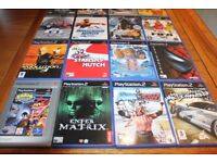 SELECTION OF PLAYSTATION 2 GAMES