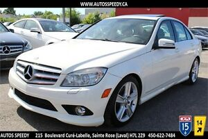 2010 MERCEDES-BENZ C300 4MATIC/AWD, XENON, TOIT OUVRANT, A/C