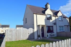 2 Bed Unfurnished House in Brilliant Central Location in Dornoch. Huge Garden and parking.