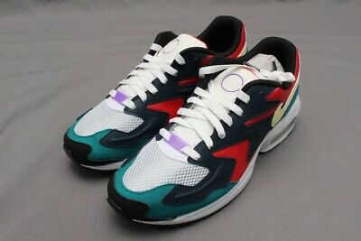 NIKE AIR MAX2 LIGHT SP - BV1359-600 HABANERO RED/ARMORY NAVY  ()