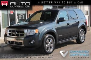2008 Ford Escape Limited AWD ** LEATHER ** MOONROOF ** NEW TIRES