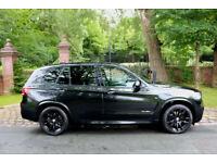 "15 PLATE BMW X5 30d M SPORT xDrive 1 PREV OWN 18,421 MILES BLACK PACK 20"" ALLOYS"