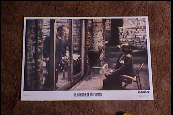 SILENCE OF THE LAMBS 1989 LOBBY CARD #5 HORROR