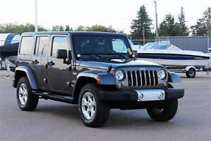 JEEP WRANGLER UNLIMITED SAHARA 4X4 W/ HARDTOP/SOFTTOP