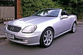 2002 MERCEDES SLK CONVERTIBLE 200 KOMPRESSOR, AUTOMATIC, 59K MILES, like mx5 bmw z3 z4 audi tt