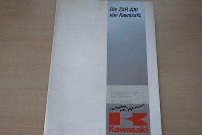 Kawasaki Zxr 400 Prospekt 199? 193653 Auto & Motorrad: Teile Automobilia