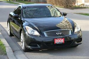 2008 Infiniti G37S Sport Model *PADDLE SHIFTER* LOW KM !!!!