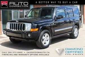 2008 Jeep Commander Sport 4x4 ** V8 ** 7-PASSENGER ** LEATHER **