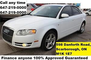 2007 Audi A4 2.0T Auto Leather Sunroof FINANCE 100% APPROVED