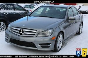 2013 MERCEDES C300 4MATIC/AWD, NAVIGATION/XENON/CLEAN CARPROOF