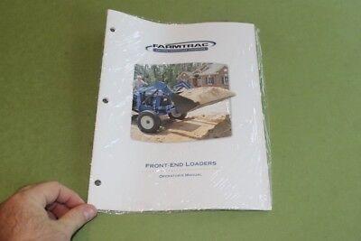 Farmtrac Front-end Loaders Operators Manual.