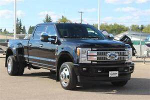 2017 Ford Platinum F-350 SuperDuty 4x4 CrewCab Dually Diesel