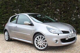 RENAULT CLIO RENAULTSPORT 197 (silver) 2009