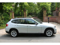 13 PLATE BMW X1 20d DIESEL SPORT XDrive 4X4 1 PREV OWN 52,022 MILES FSH SUPERB