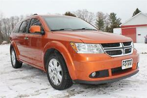 2011 Dodge Journey R/T ALL WHEEL DRIVE - Sunroof, Leather