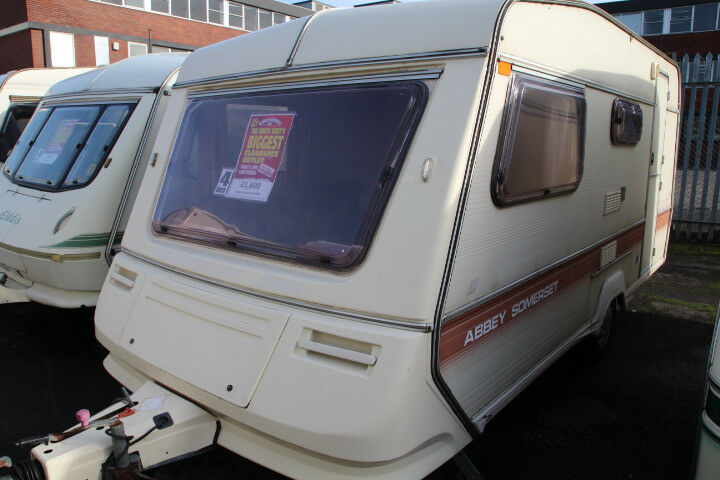 Abbey Somerset 1990 4 Berth Caravan £1600