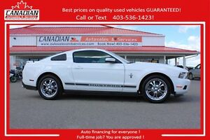 2012 Ford Mustang V6 300HP Auto Financing from $349/month OAC