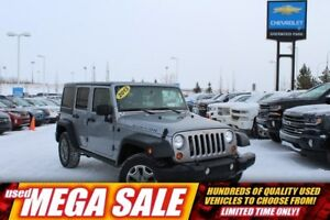 2013 Jeep WRANGLER UNLIMITED Rubicon| Nav| Heat Leath| Rem Start