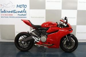DUCATI PANIGALE 899 ROUGE 2015