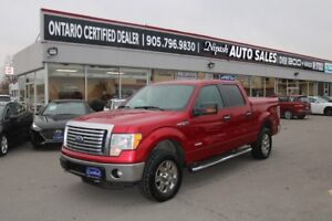 2011 Ford F-150 4x4 ECO BOOST AL SERVICE DONE BY FORD CERTIFIED