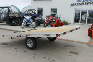 TRITON 2 PLACE ALUMINUM SNOWMOBILE TRAILER XT10