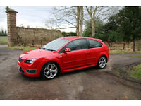 Ford Focus ST-2 2007, 3-Door, Colorado Red, FFSH, One Family Owned.