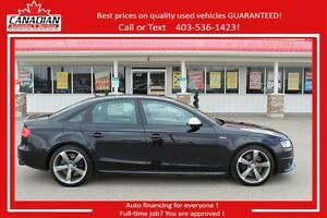 2011 Audi S4 Premium FULLY LOADED LOWEST PRICED! FINANCING AVAIL