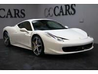 2014 14 FERRARI 458 4.5 ITALIA DCT 2D AUTO 570 BHP