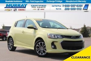 2017 Chevrolet Sonic *AIR CONDITIONING,HEATED MIRRORS,HEATED SEA