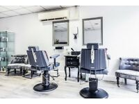 Two Hairdresser chairs for rent in established salon