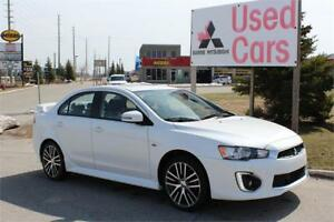 2017 Mitsubishi Lancer GTS * AWC * Leather * Warranty
