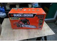 Black and decker 1900w electric chainsaw brand new unopened