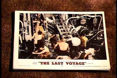 LAST VOYAGE 1960 LOBBY CARD #4 NAVAL NAVY