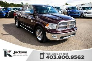 2012 Ram 1500 Laramie Longhorn - NAV, Rear Parking Sensors