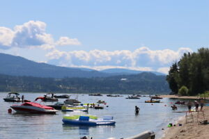 Lakefront RV lot for rent on Shuswap