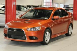 Mitsubishi Lancer RALLIART 4D Sedan 2011