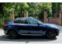 """12 PLATE BMW X6 40d DIESEL Xdrive 67546 MILES XENONS HEADS UP DISPLAY 20"""" ALLOYS"""