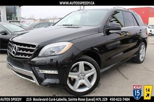 2013 MERCEDES ML350 BLUETEC 4X4/NAVI/CAMERA/XENON/TOIT PANORAMIC