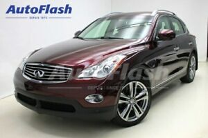 2014 Infiniti QX50 Journey * Camera-360* Cuir/Leather*