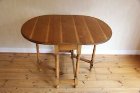Drop Leaf Gate Leg Dining Table