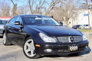 2006 Mercedes Benz CLS-500 - Local Ontario Vehicle - Certified!