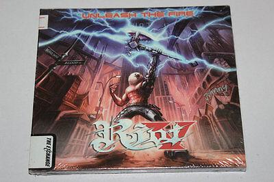 Riot - Unleash The Fire-Digipak-CD Steamhammer NEW SEALED