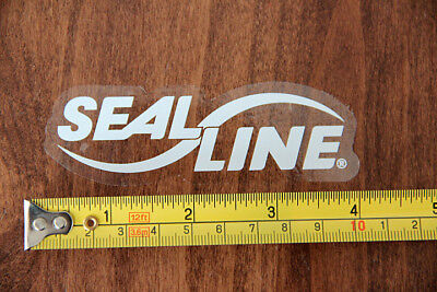SEAL LINE Dry Bags STICKER Decal NEW White Clear